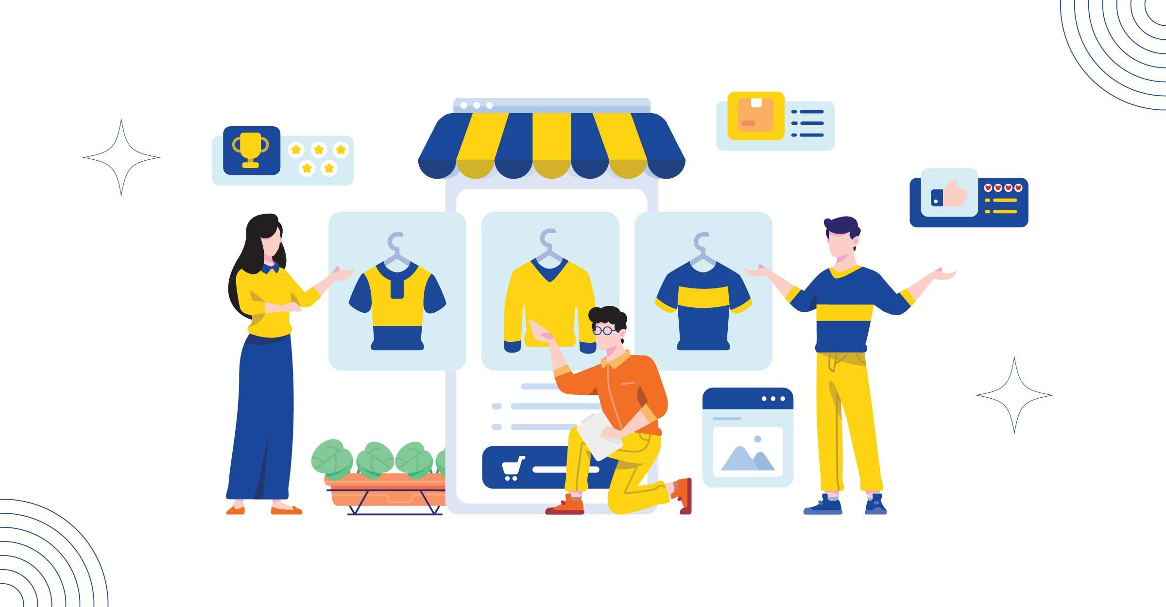 Advocacy-Marketing,-Cara-Promosikan-Bisnismu-Melalui-Social-Commerce-vektor