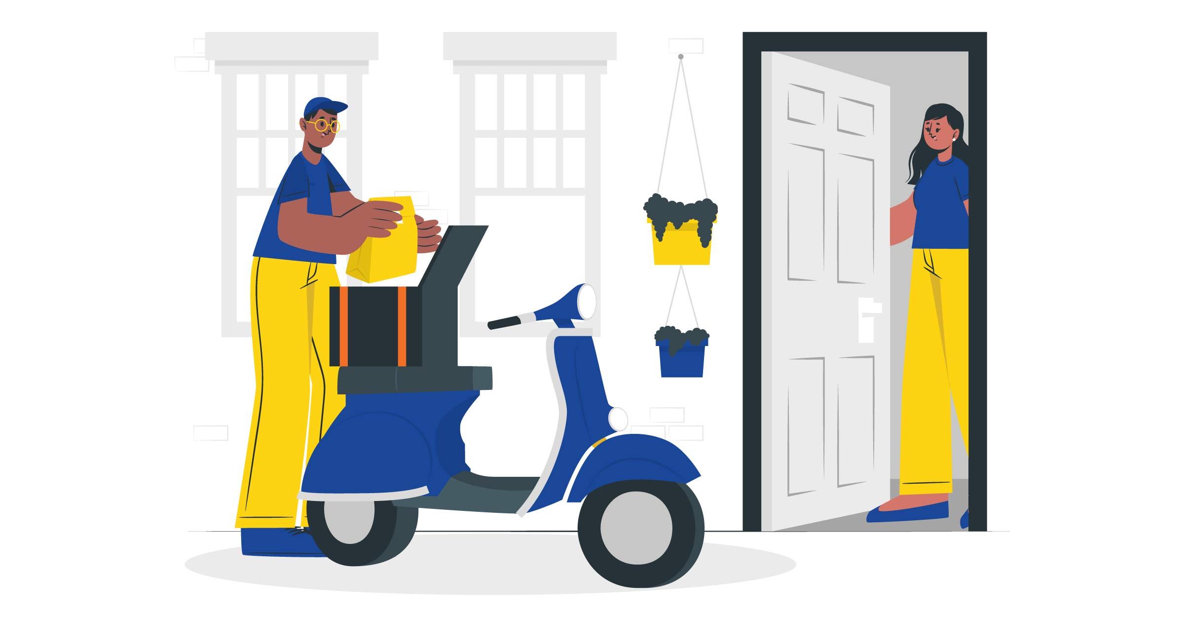 Delivery-Order-Permudah-Pengiriman-di-Masa-Pandemi-vektor