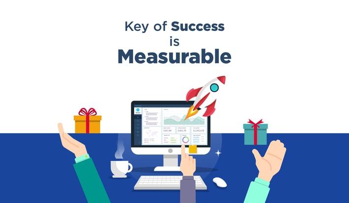 Key of Success is measureable-01