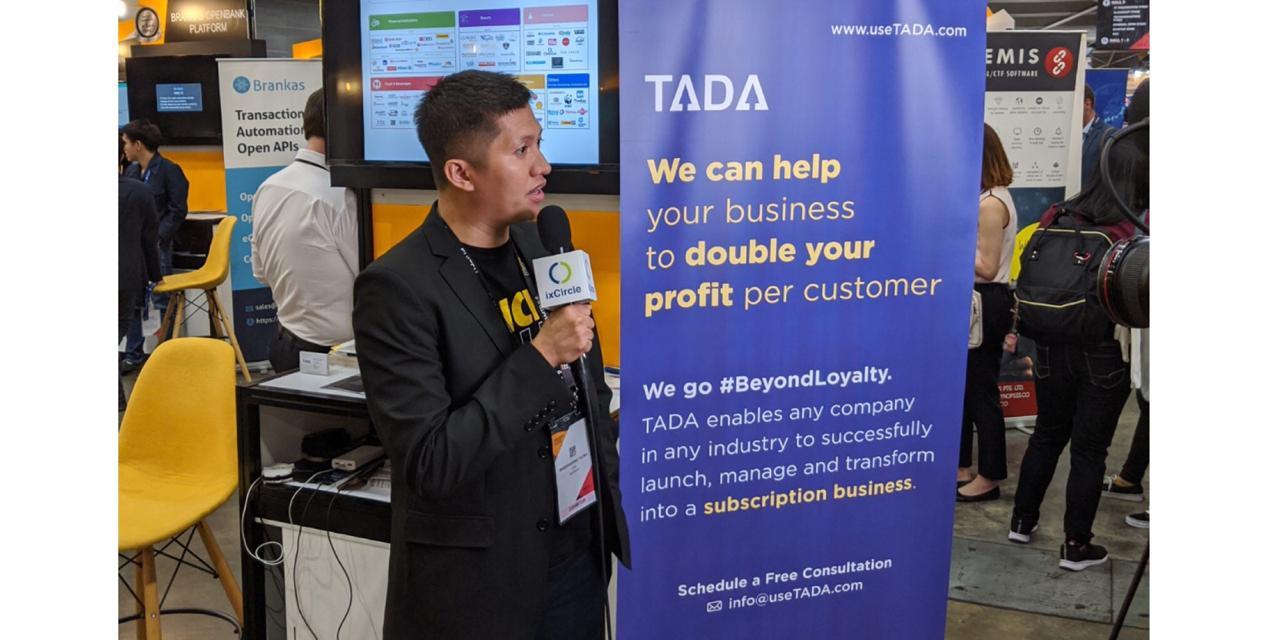 Singapore Fintech Festival 2019 TADA Booth