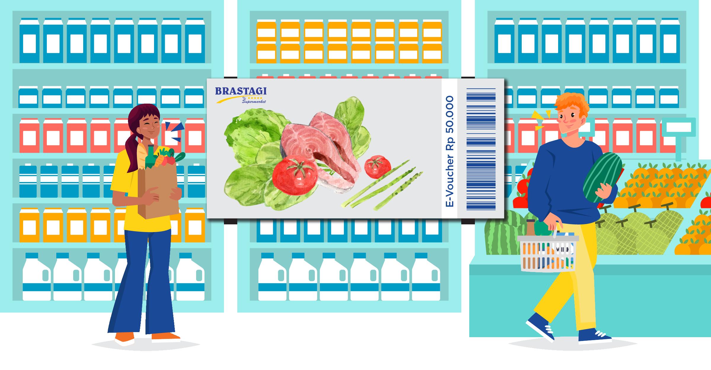 Brastagi Supermarket Medan Voucher